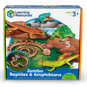 Reptiles y Anfibios Jumbo - Learning Resources - 0838