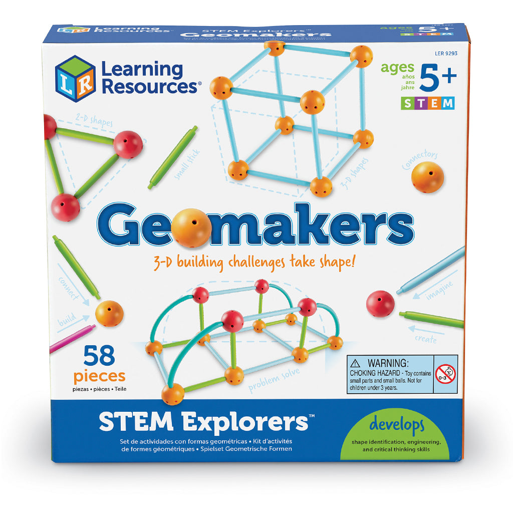 LER9293 (LEARNING R.)  - JUGUETE GEOMETRICO, STEM EXPLORERS GEOMAKERS