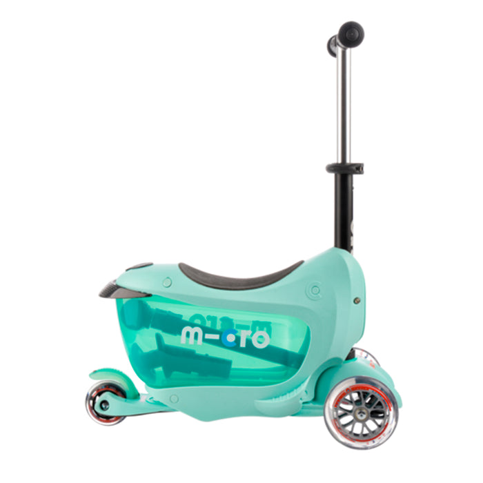 MICRO - MONOPATIN : MINI 2GO DELUXE - COLOR MENTA - MMD017