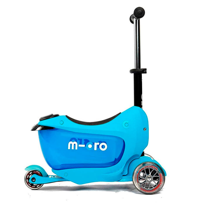 MICRO - MONOPATIN MINI 2GO DELUXE - COLOR AZUL - MMD030