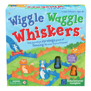 2886 (EDUCATIONAL I.)  - JUEGO DE MESA, WIGGLE WAGGLE WHISKERS