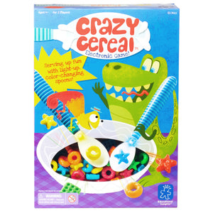 3445 (EDUCATIONAL I.) - Juego de Mesa Cereal Loco Crazy Cereal™ Electronic Game