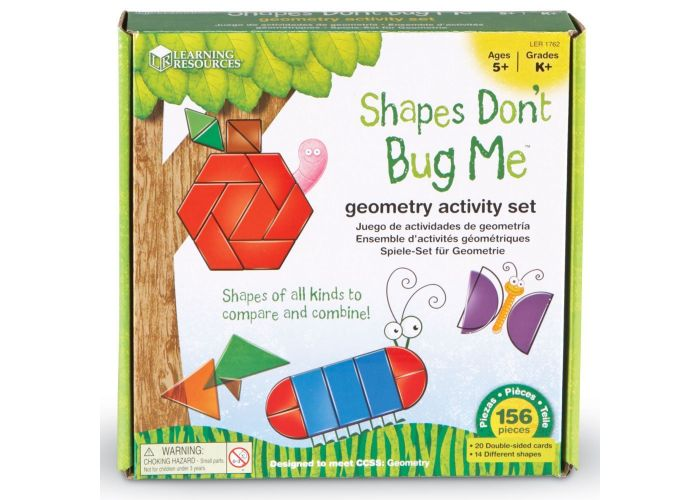 Actividades Geométricas -  SHAPES DON'T BUG ME - Learning Resources - LER1762
