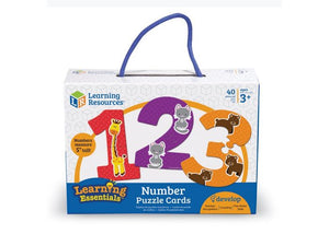 Tarjetas Rompecabezas de Números - Learning Resources - LER8591