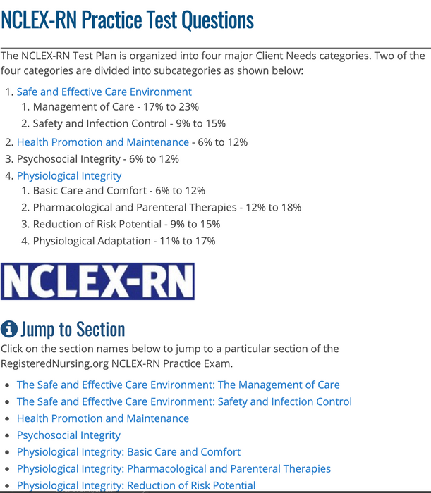 NCLEX-RN 2019 Study Guide + Practice Exam - PLUS Edition - PDF