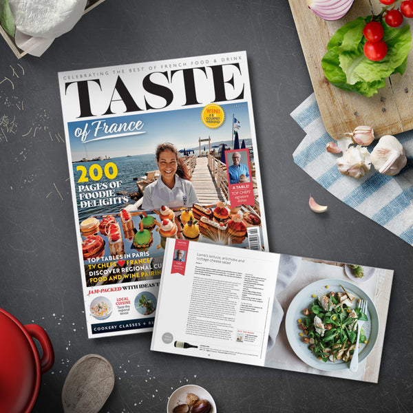 Our new title, Taste Of France Magazine for Francophiles and foodies alike