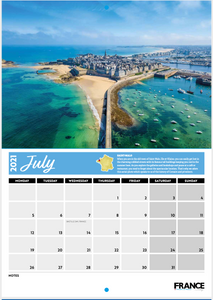 France Today 18-Month Charity Calendar (2020/21)