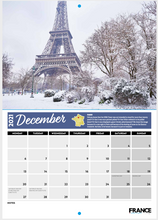 Load image into Gallery viewer, France Today 18-Month Charity Calendar (2020/21)