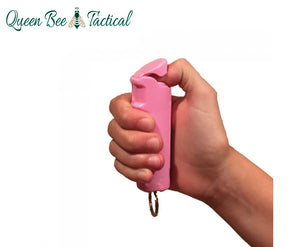 Police Force 23 Pepper Spray 1/2 oz. Flip Top/Pink