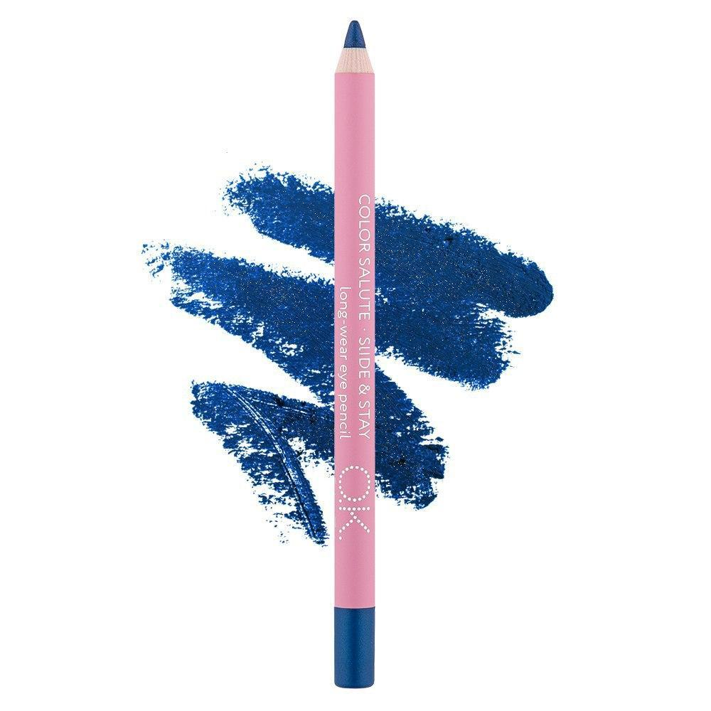 COLOR SALUTE SLIDE & STAY LONG-WEAR EYE PENCIL COBALT OK BEAUTY