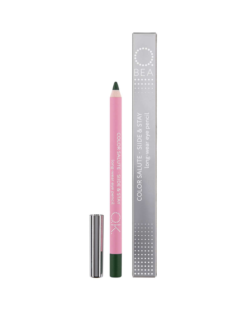 COLOR SALUTE SLIDE & STAY LONG-WEAR EYE PENCIL MUZO OK BEAUTY