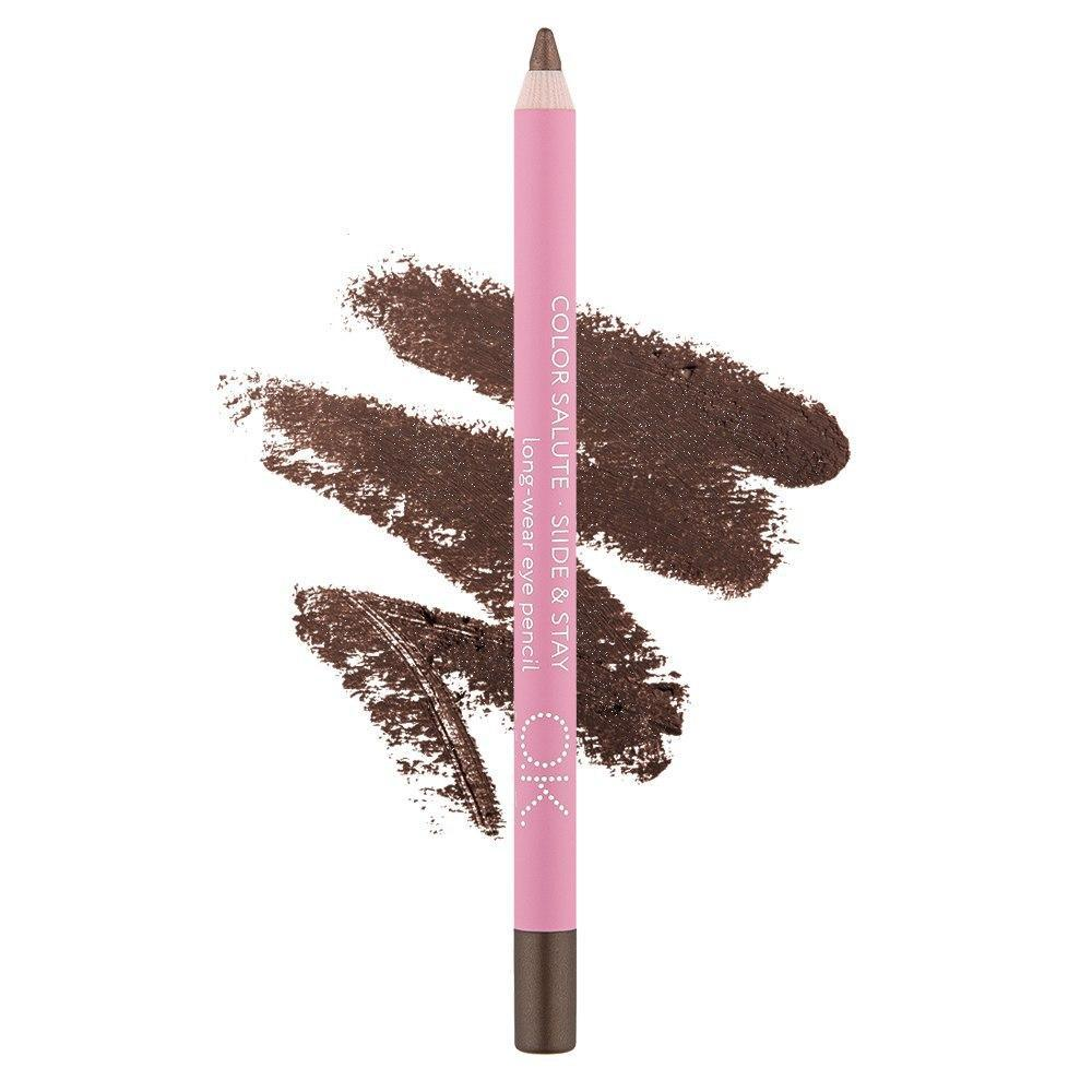 COLOR SALUTE SLIDE & STAY LONG-WEAR EYE PENCIL ROBIN OK BEAUTY
