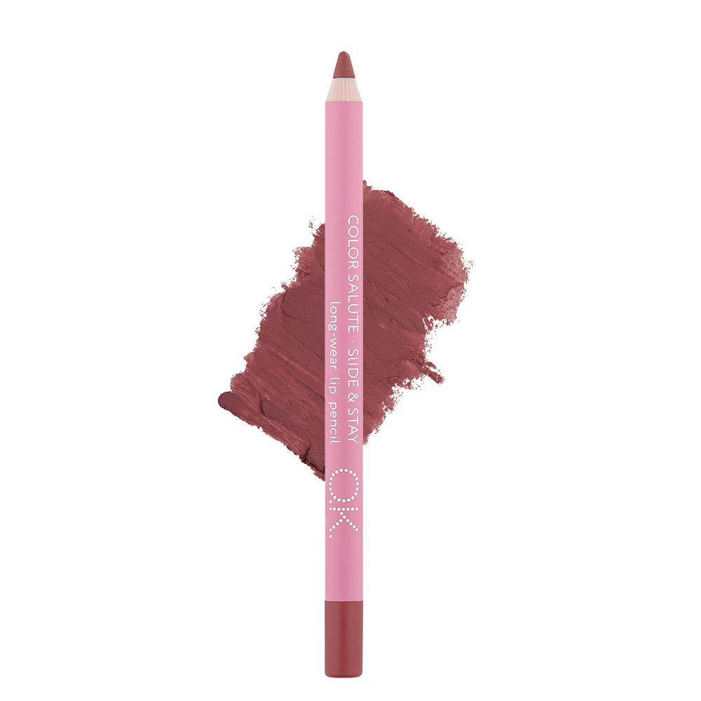 COLOR SALUTE SLIDE & STAY LONG-WEAR LIP PENCIL HAPPY END OK BEAUTY