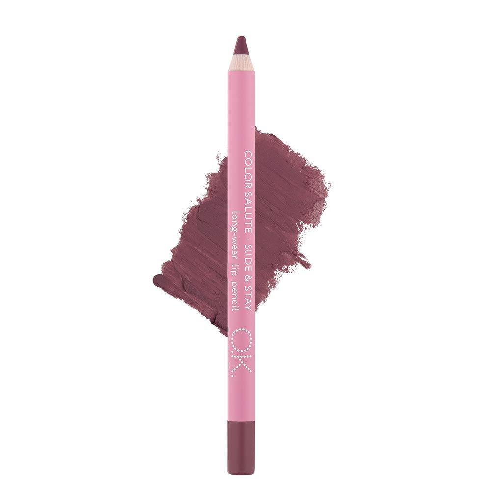 COLOR SALUTE SLIDE & STAY LONG-WEAR LIP PENCIL URANIA OK BEAUTY
