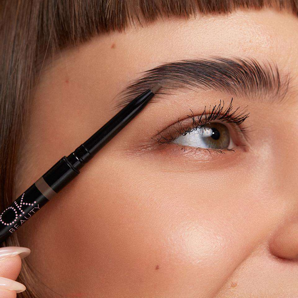 OK BEAUTY COLOR SALUTE DEFINE & SHAPE Brow Liner SABLE OK BEAUTY