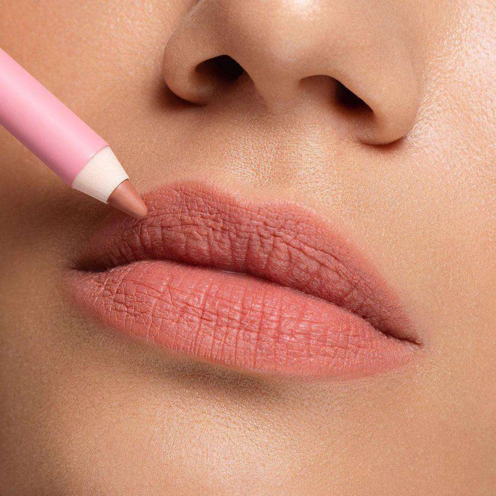 OK BEAUTY COLOR SALUTE SLIDE & STAY LONG-WEAR LIP PENCIL SANDY OK BEAUTY