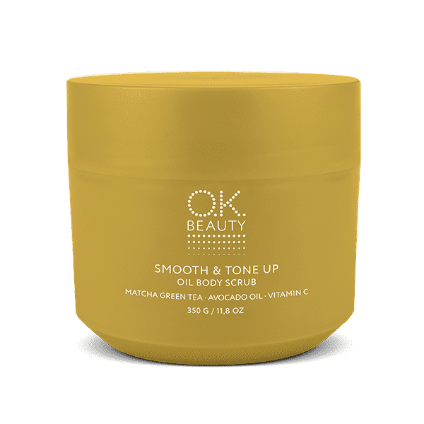 SMOOTH & TONE UP OIL BODY SCRUB OK BEAUTY