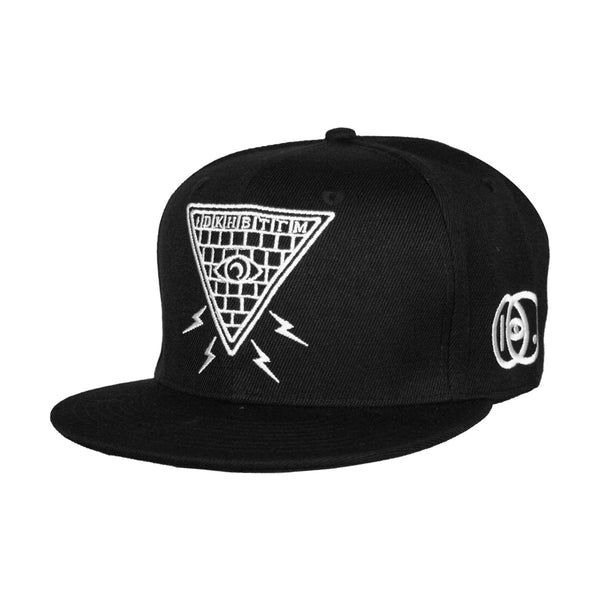 All Seeing Eye Embroidered Snapback Cap
