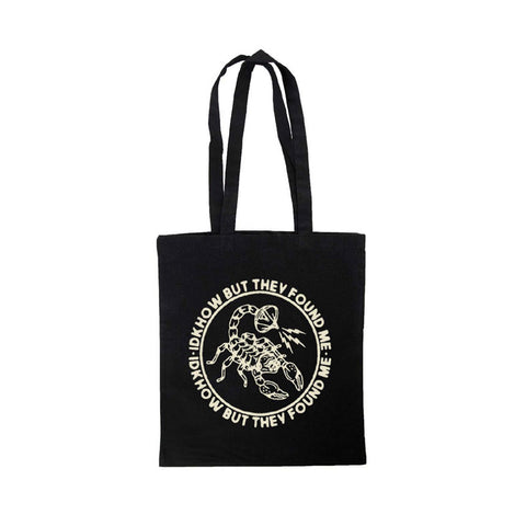 Broadcast Scorpion Black Tote