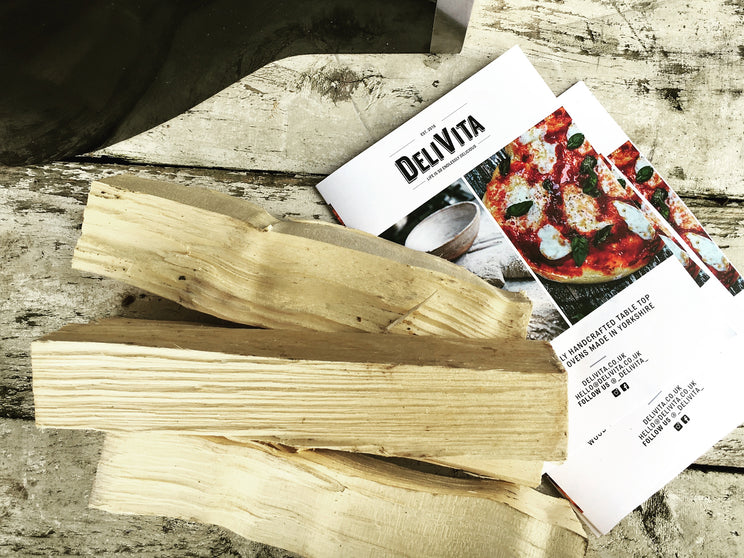 Starter wood bundle for your Delivita wood fired oven