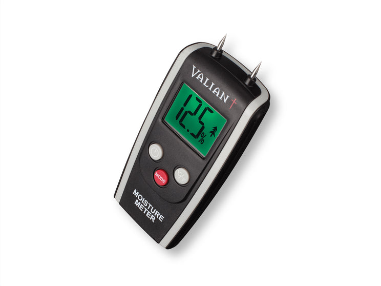 Get the best burn from your Delivita wood fired oven with our moisture meter