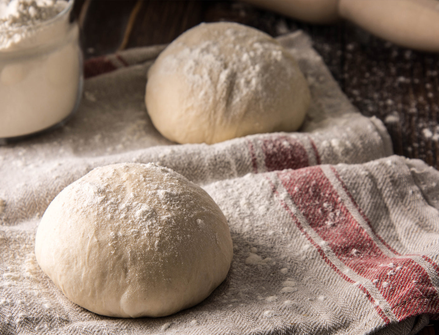 Organic sour dough pizza bases from Delivita