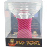 Carbon Flo-Bowl - Glass/Silicone Bowl - Pharaohs Hookahs