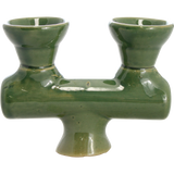 Traditional Ceramic Double Bowl - Pharaohs Hookahs