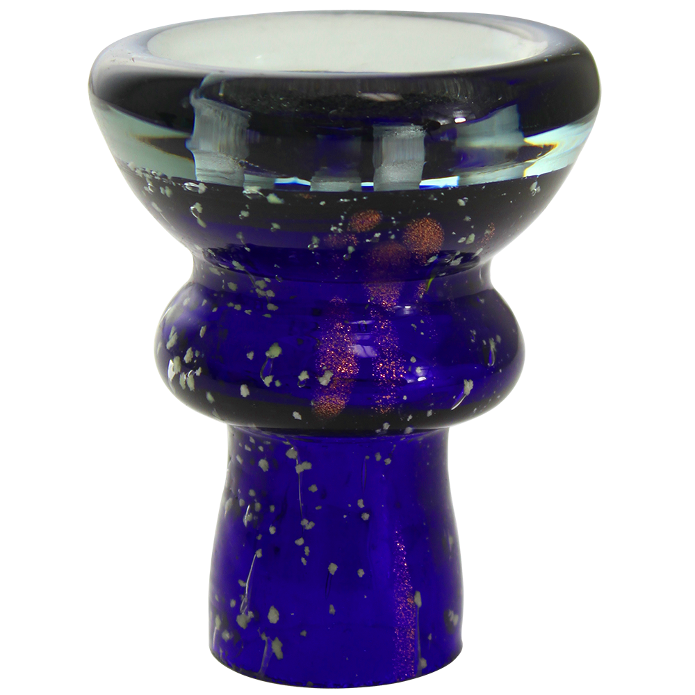 Crystal Traditional Bowl Glow in the Dark - Pharaohs Hookahs