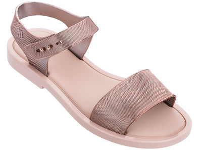 Melissa Mar Sandal Chrome Ad