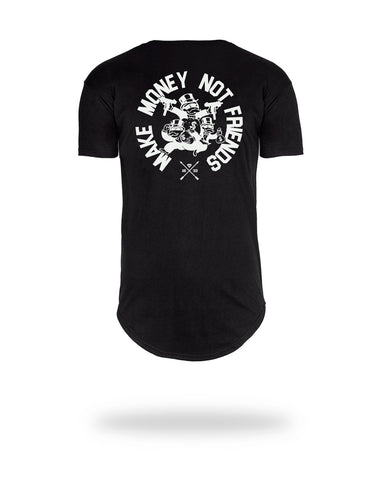 Camiseta Make Money Not Friends - HARDEST