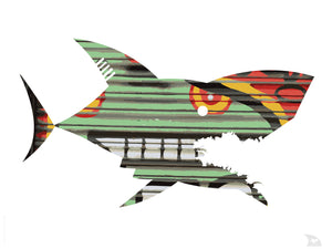 Poster requin Graff 2