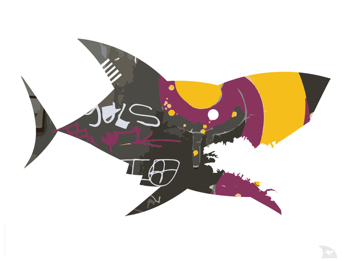 Poster requin Graff 3