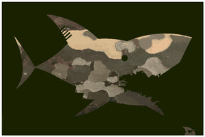 Poster Requin Army