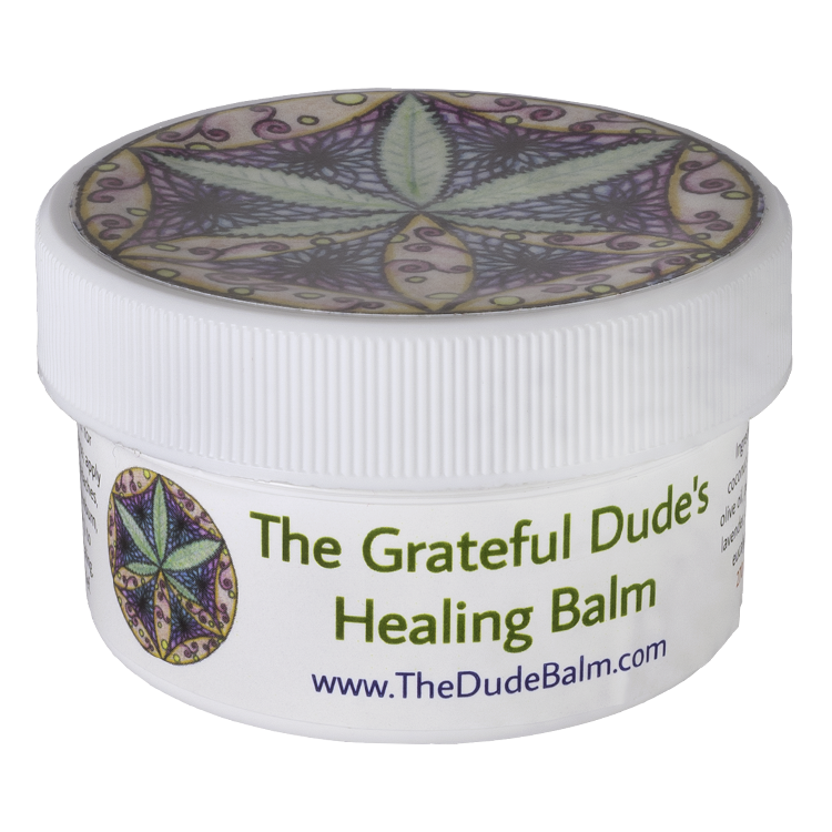 Grateful Dude's Healing Balm 1 oz.