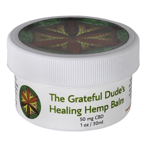Grateful Dude's Healing HEMP Balm 1 oz.