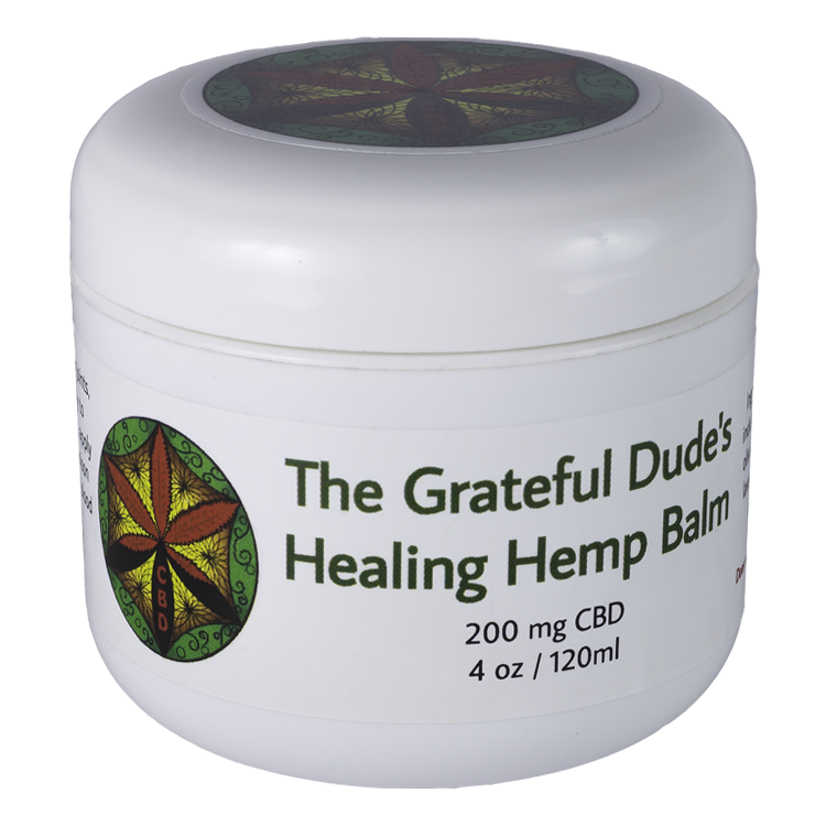 Grateful Dude's Healing HEMP Balm 4 oz.