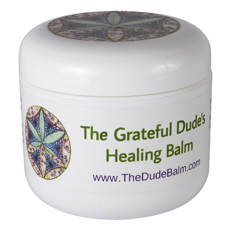 Grateful Dude's Healing Balm 4 oz.