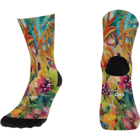Doppio Slavo - Flores Jungle Socks - TerraVenture MTB Ltd