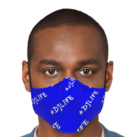 #DJLIFE Blue Face Mask