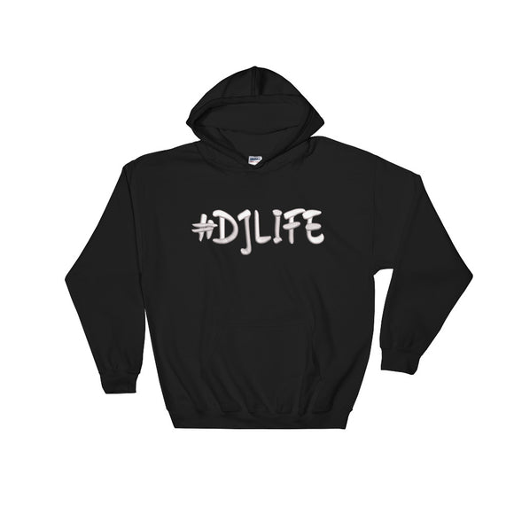 #DJLIFE Hoodie (Embroidered)