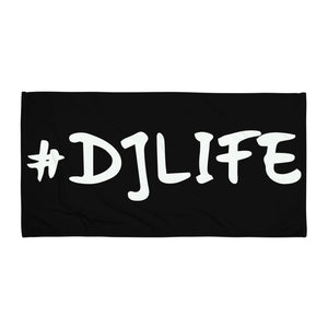 #DJLIFE Beach Towel
