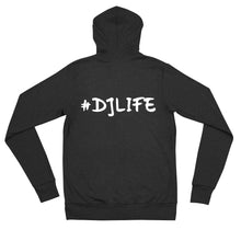 Load image into Gallery viewer, Lite#DJLIFE Zip Up Hoodie