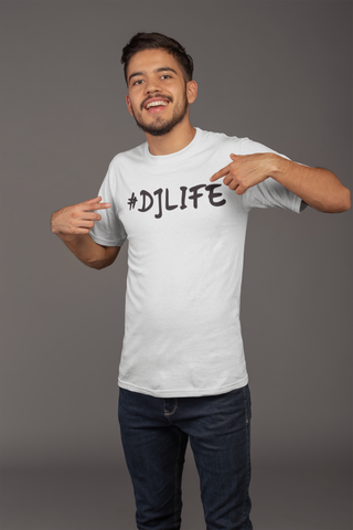 #DJLIFE White T-Shirt