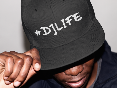 #DJLIFE SnapBack (Multiple Colors)