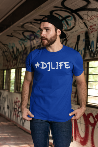 #DJLIFE Royal Blue T-Shirt