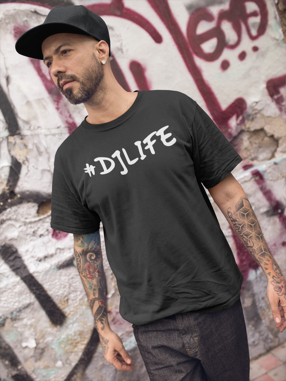 #DJLIFE Black T-Shirt