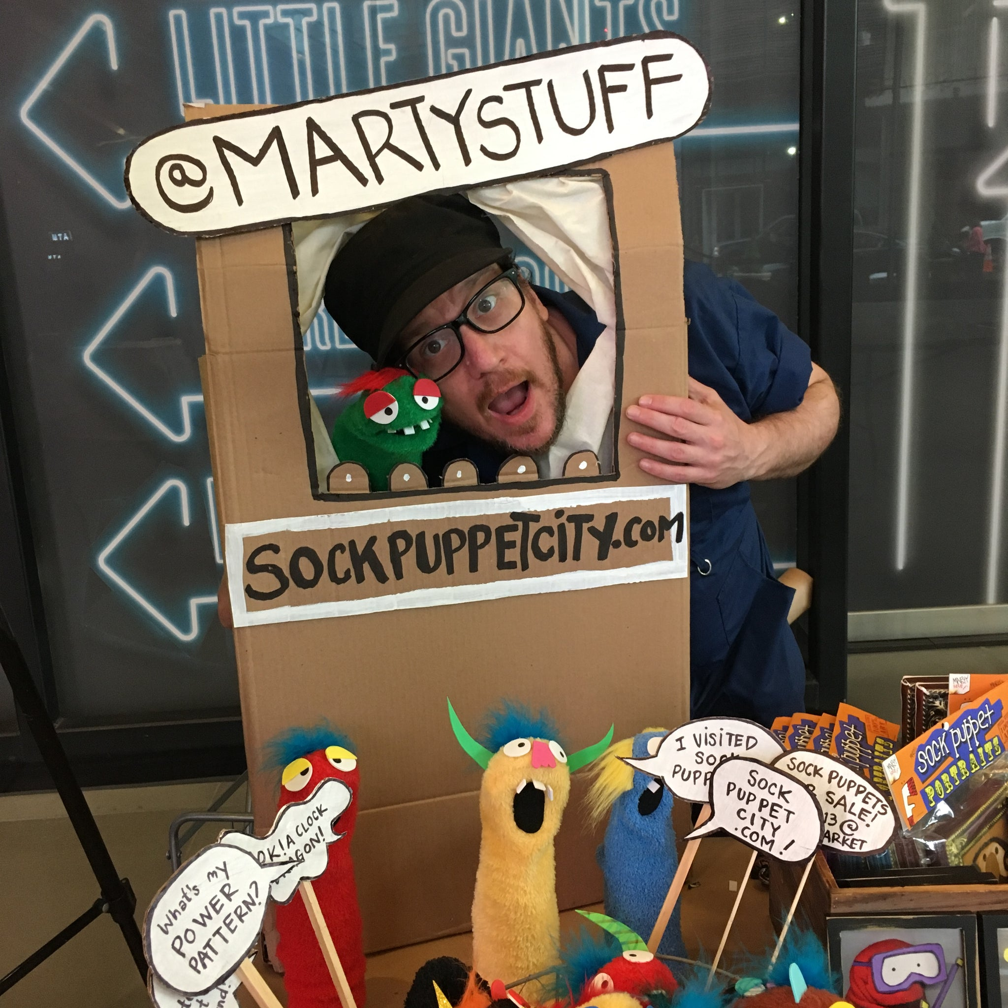 Sock Puppet City at City Point, Dec 15/16