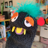 One-of-a-kind Sock Puppet