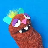 Sock Puppet Beartholomew B. Bear